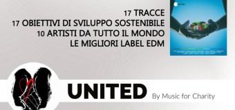 United Music For Charity L'album è Fuori
