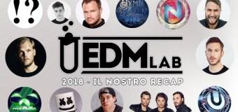 L'EDM 2018 in un ReCap mese per mese