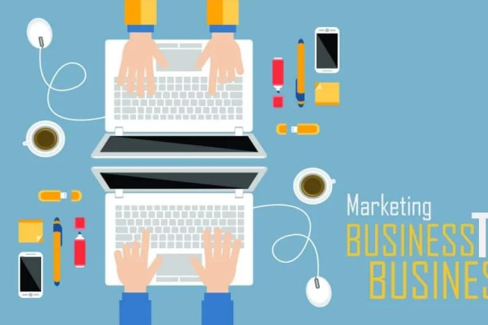 O que é marketing B2B?
