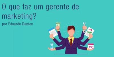gerente de marketing