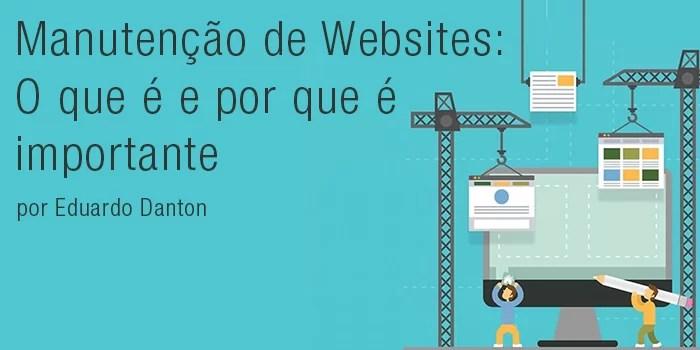 Manutenção de Websites