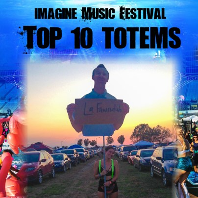 Totems of Imagine Music Festival