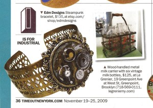 EDMDesigns Cuff in Time Out New York Magazine