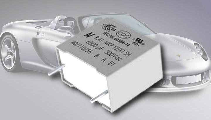 Nuovi condensatori a film di polipropilene metallizzato