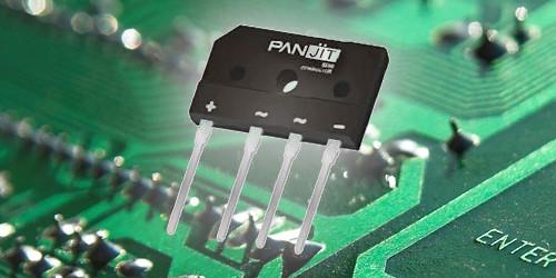 Raddrizzatori a ponte per l'utilizzo su circuiti stampati