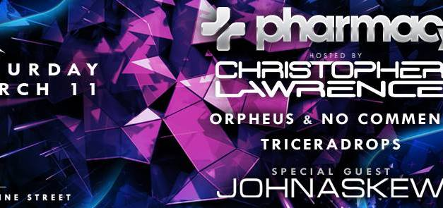 Christopher Lawrence & Pharmacy Music @ Avalon Hollywood || Preview & Giveaway
