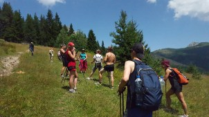 Hiking in the beautiful Rugova Valley