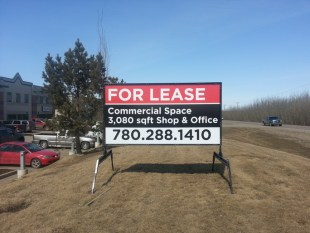 Edmonton Commercial Real Estate Signs Commercial Real