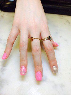 Lcn S New Gl Gels Include 11 Transpa Colors That Create Fantastic Works Of Nail Art Educator Rossana Chousal Fune Hawthorne N J