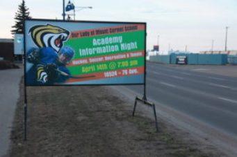 Non Profit Signs Edmonton