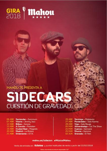 Sidecars @ Sala La Riviera, Madrid