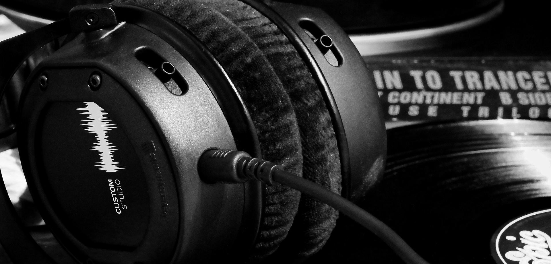 Pair of Studio Headphones
