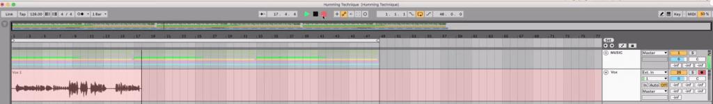 record singing or humming