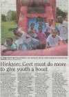 Hinkson: Govt must do more to give youth a boost - 2016-01-04 - Daily Nation - Page 4