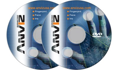 Mini DVD Replication with full Color Silk Screen CYMK or Offset Print