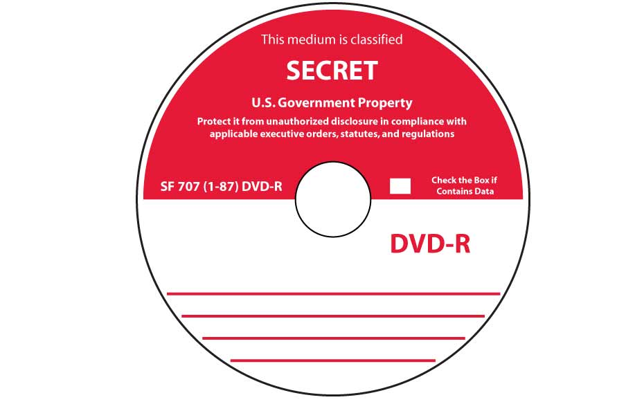 SF-707-1-87 CD-R or DVD-R