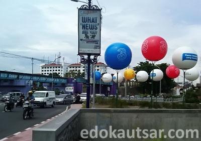 Balon Iklan 3 Jembatan Kewek