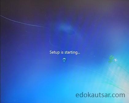Cara install windows 7 di laptop