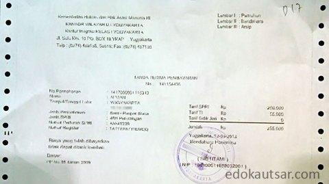 Biaya pembuatan paspor yogyakarta