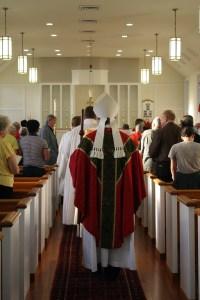 Photographs: Installation of the Rev. Ashley Freeman, Rector, St. Patrick's