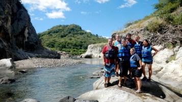 Team canyoneering