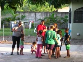 Swarm of kids