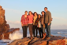 The Group at Cape of Good Hope