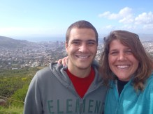 Me & Tess at Table Mountain