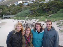 Erin, KK, Tess & Me with the Penguins