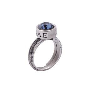 anello pietra azzurra