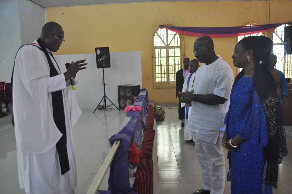 Special prayers for Governor Obaseki, family at Christmas