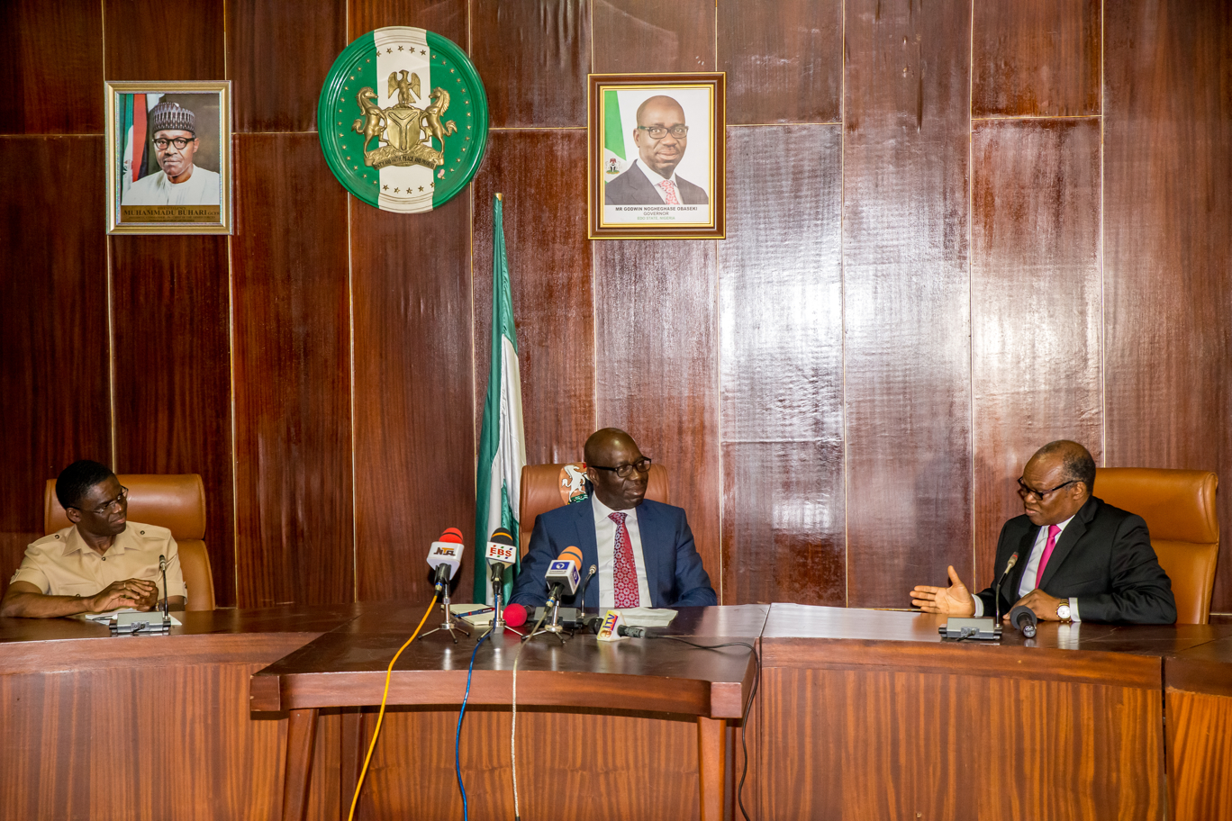 """Stable democracy dependent on strong relationship among arms of govts."", Obaseki"