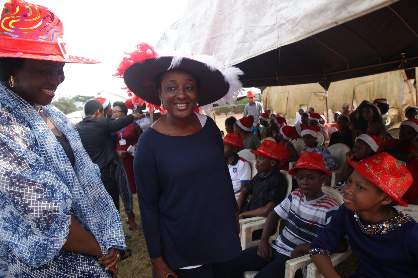 Mrs. Betsy Obaseki's spirit of kindness at Xmas