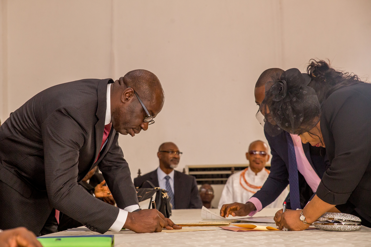 Edo Governor swears in Ikponwen as new Chief Judge