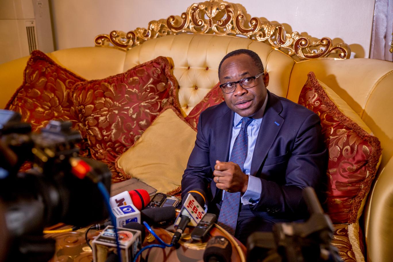Obaseki, investors, others inspect fertilizer plant in Auchi, Okpella
