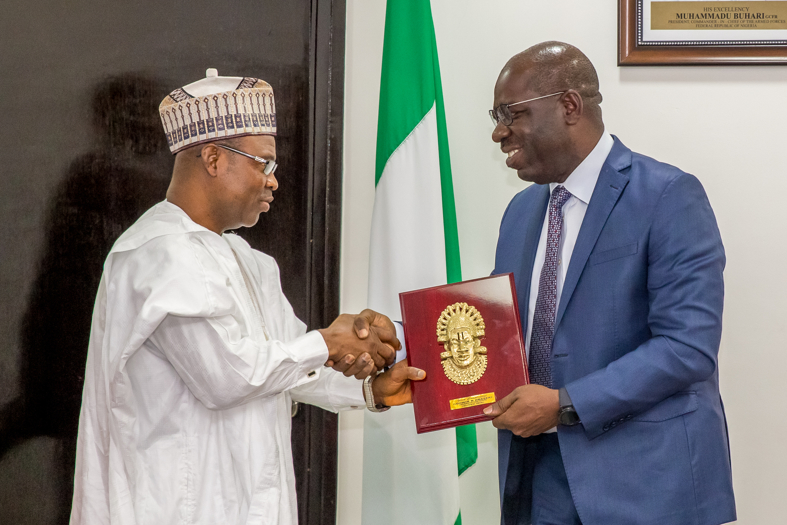 Edo state Govt.‎ to partner ITF to develop human capacity