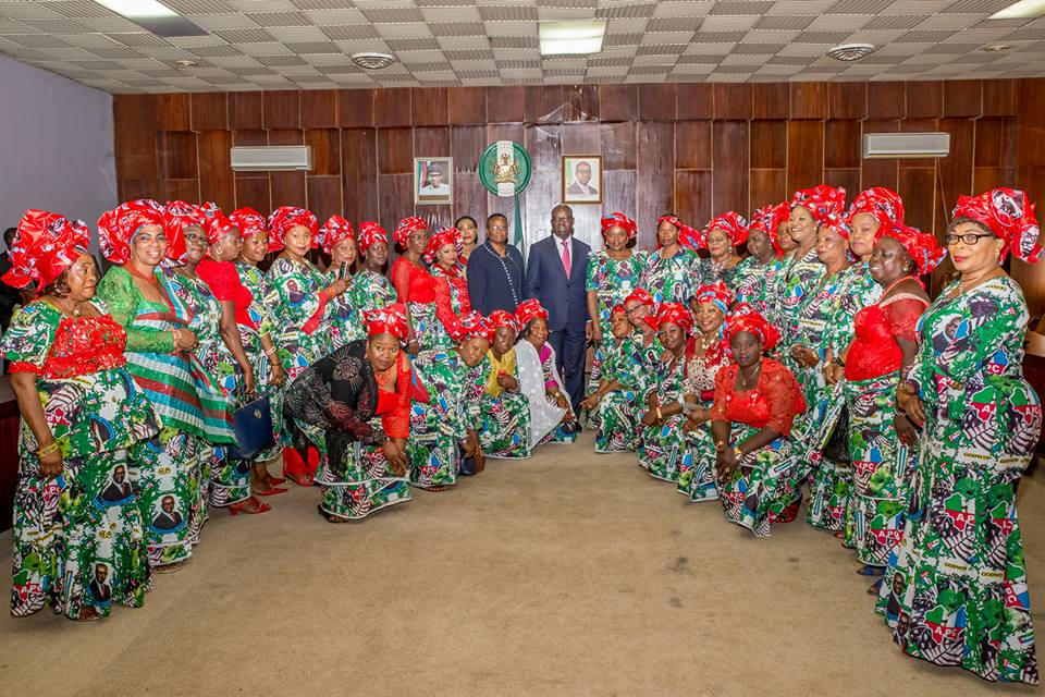 Governor Obaseki admonishes women to key into his policy to revamp the state's economy