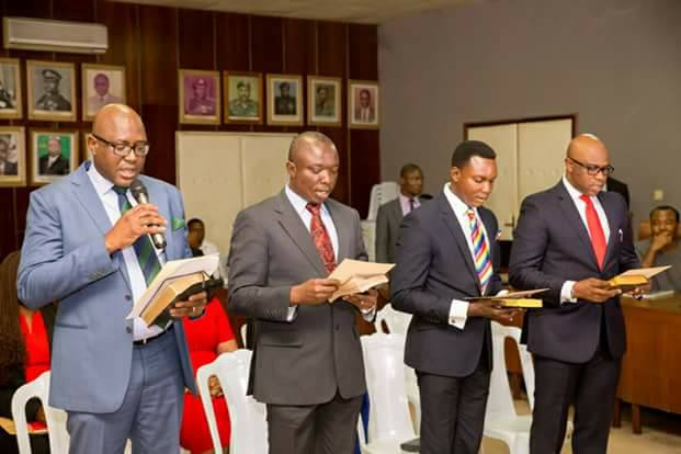 Obaseki swears in new Revenue board members, charges professionalism