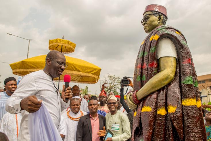 Edo to reintroduce Bini History in schools as Obaseki offers scholarship to PhD  candidates in Bini history