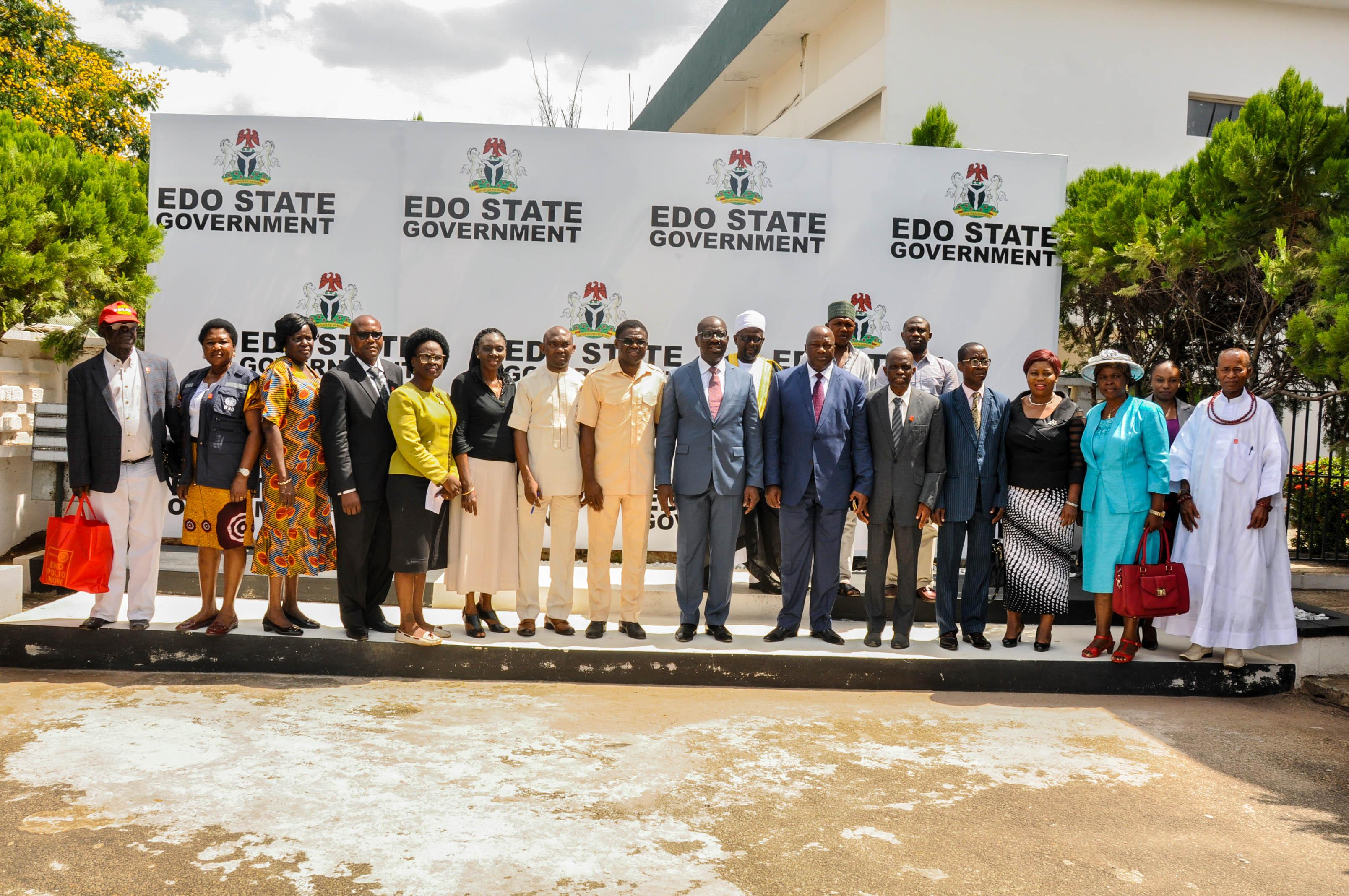 Edo Govt. inaugurates State's Task Force on immunisation