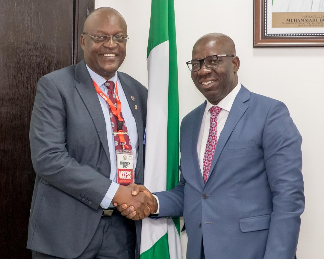 Obaseki, Rotary Club to develop reading culture in Edo