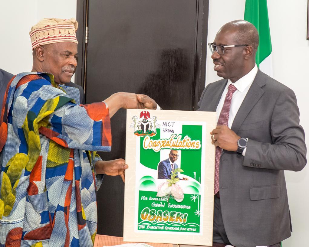 Obaseki hails FG over establishment of NICT