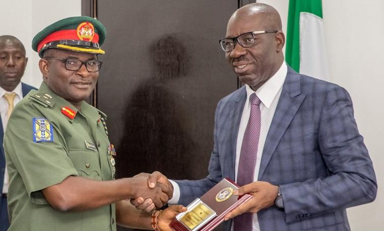 Army Transport School lauds Obaseki, to train Edo firemen, drivers