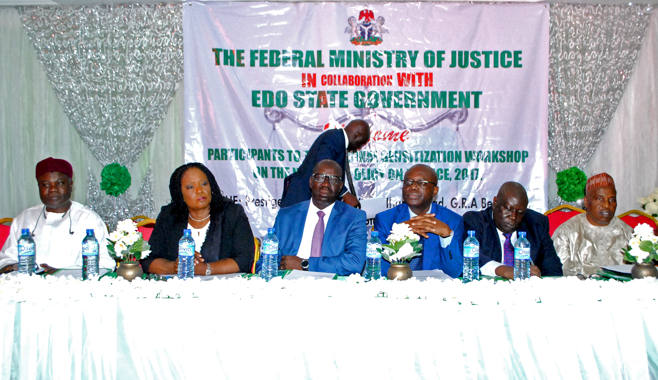 Obaseki seeks National Policy on capacity building for Judicial workers