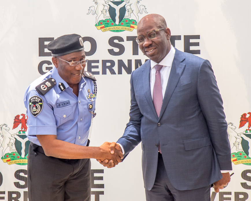 Obaseki receives New Police Commissioner, assures of new security architecture