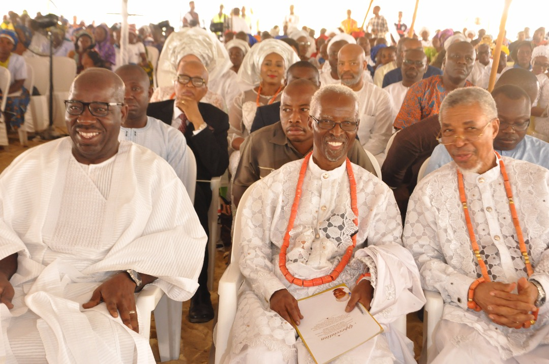 Obaseki at Gbinije's burial, urges Christians to emulate her virtues