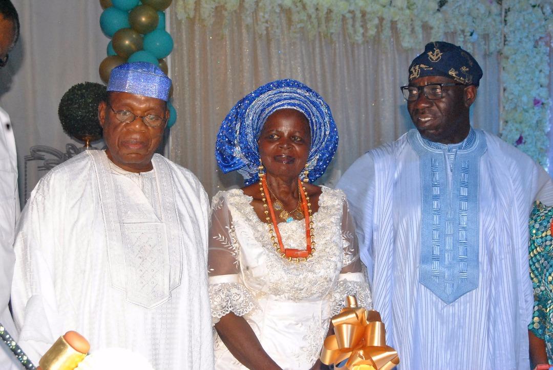 Obaseki celebrates Asemota at 80