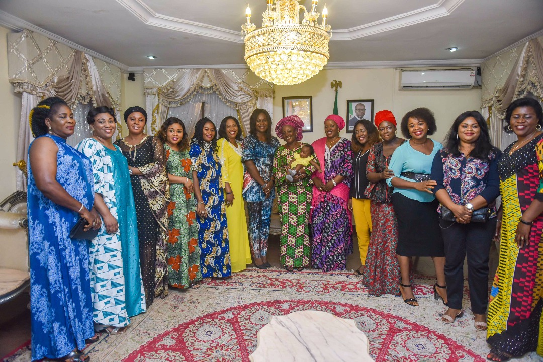 Edo First Lady hosts wives of state legislators, calls for unity, partnership to foster development