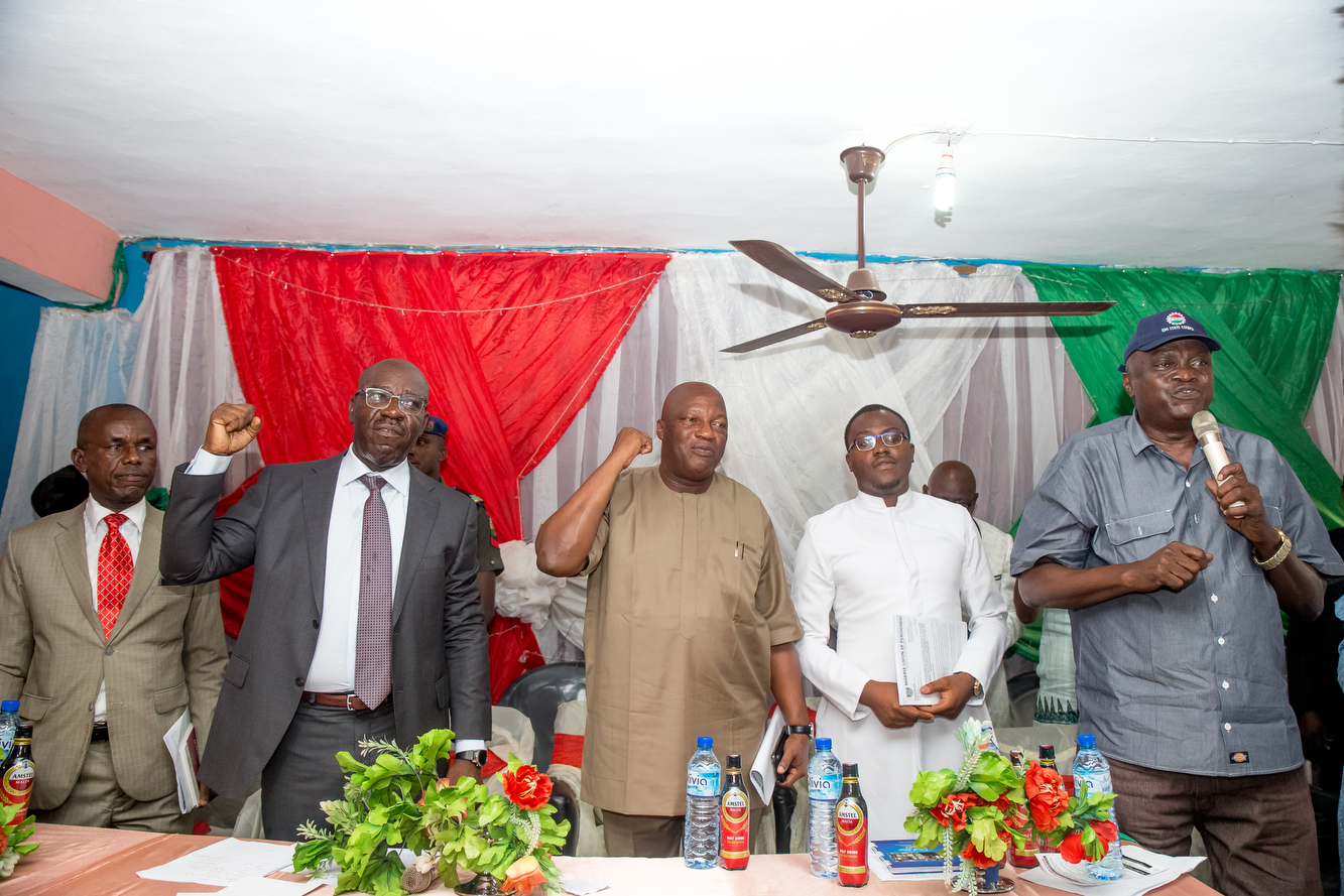 Obaseki meets pensioners, reduces arrears by N6bn