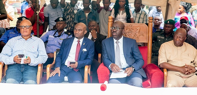 Obaseki commiserates with families of victims of attacks, revamps security architecture